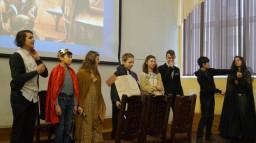 Театральный проект «Легенды о короле Артуре», 6А, 6Б, 7А, 7Б классы