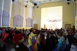 Новогодний праздник для 5-11 классов