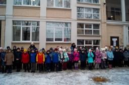 Открытие обновлённой школьной площадки