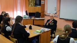 Уроки мужества, посвященные Дню Победы в Великой Отечественной войне