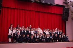 Праздничный концерт, посвященный 100-летию школы. 1-11-е классы, Театр Эстрады