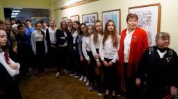 """Открытая районная выставка """"Реликвии рассказывают"""" в школьном музее"""