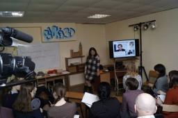 Мастер-класс (для учащихся и педагогов) «Медийность, как путь к успеху»