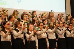 Благотворительный концерт для родителей учащихся