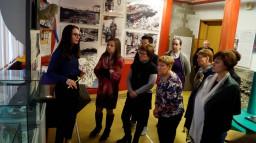 школьный музейный центр принимал слушателей курсов