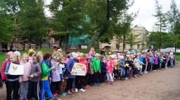 Туристический слёт начальной школы