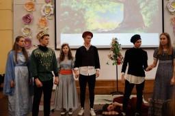 Спектакль «Сон в летнюю ночь».Генеральный прогон для городского Шекспировского фестиваля драмы 10-е классы.