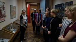 Дружекский визит группы учителей и учеников школы г. Миккели (Финляндия)