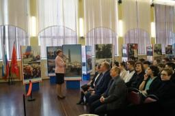 Открытие выставки «Крымская весна», посвященной годовщине присоединения Крыма к России