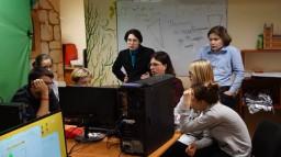 Мастер-класс (для учащихся) в рамках Городского фестиваля кино-видео творчества и телевидения «Киношаг» «Постобработка фильма: ц