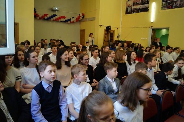 Фестиваль классных хоров «Весенние голоса». 5-9 классы