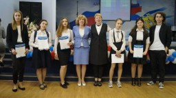 Торжественная церемония награждения грамотами Юность Адмиралтейского района «Юность России»