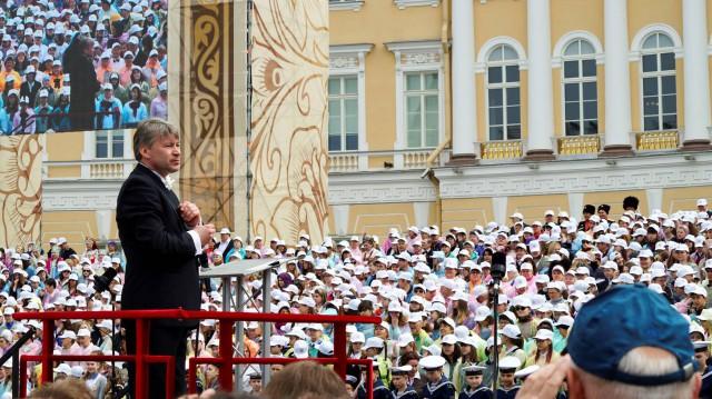 Участие в городском хоровом празднике, посвященном Дню славянской письменности и культуры