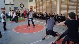 Спортивный праздник, посвященный Дню защитника Отечества. 9-11 классы