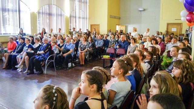 Выпускной начальная школа 2017