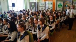 Участие в районной хоровой олимпиаде. Хор мальчиков 5-6-х классов, школьный концертный хор