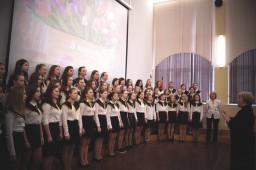 Концерт, посвященный празднику международному женскому дню 8 марта