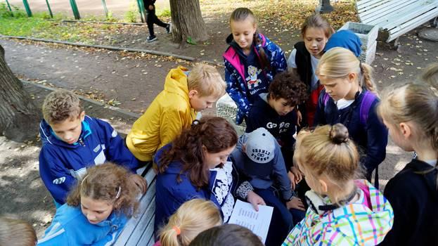 X Школьный туристический слет. 1-4 классы