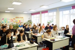 Визит группы учителей и учащихся из Финско-русской школы Восточной Финляндии