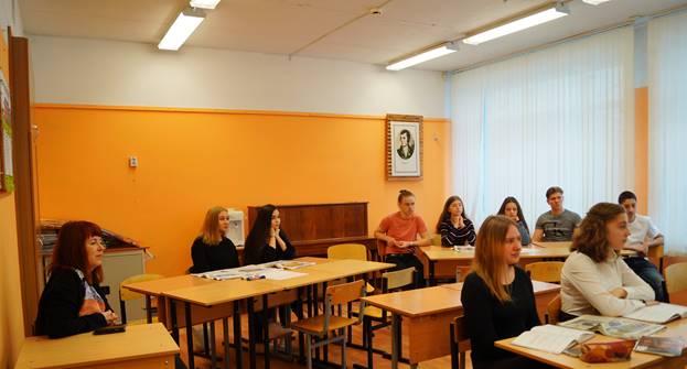 Визит группы учащихся и учителей Финско-русской школы Восточной Финляндии