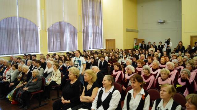 Праздничный концерт, посвященный Дню Победы в Великой Отечественной войне.