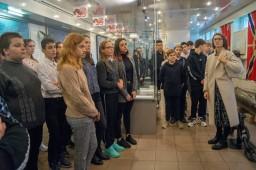 """Экскурсия учащихся 238 школы в музей """"Подводная лодка """"Народоволец"""""""""""